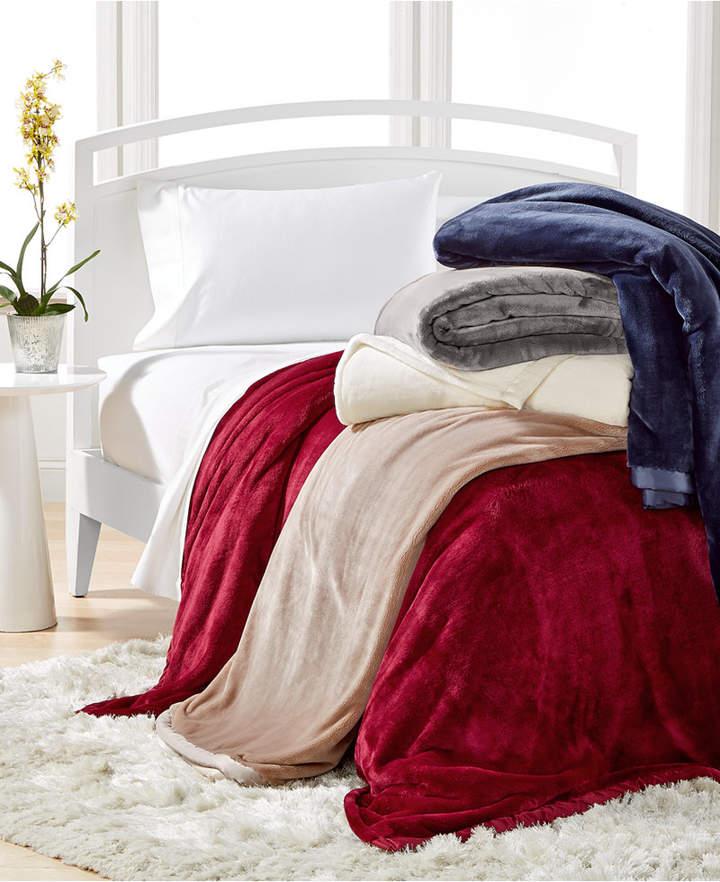 Berkshire CLOSEOUT! Velvety Luxe Blankets