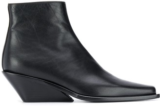 Ann Demeulemeester Pointed Ankle Boots