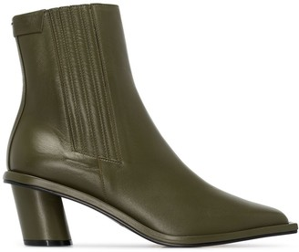 Reike Nen stitched 60mm ankle boots