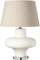 OKA Kinoko Ceramic Table Lamp - White