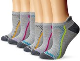 Reebok Women's Athletic Low Cut Sock with Stitching 6-Pack