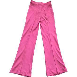 John Galliano Pink Trousers for Women Vintage