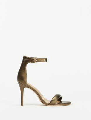 Halston Ester Ankle Strap High Heel Sandal