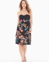 Soma Intimates Twist-Front Convertible Halter Short Dress Effortless