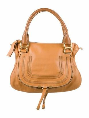 Chloé Medium Marcie Shoulder Bag Brown