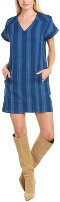 Joie Dyer Linen-Blend Mini Dress