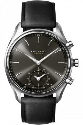 Unisex Kronaby SEKEL Alarm Watch A1000-0718