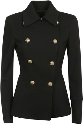 Pinko Double-breasted Mid-length Jacket