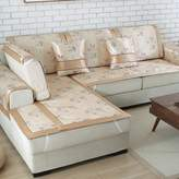 SAJKLYWEUIFPOWQR Ie Silk Sofa Pad/Anti-skidding ,Mat,Simple Modern,Sofa Sets