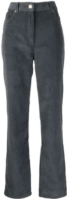Kenzo Corduroy High-Waisted Trousers