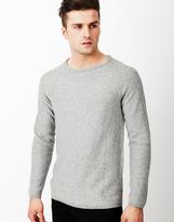 Selected Vince Crew Neck Sweatshirt Grey