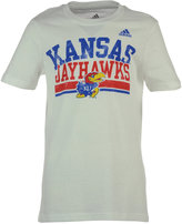 adidas Little Girls' Kansas Jayhawks Collegiate Weathering T-Shirt