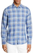 Zachary Prell Plaid Regular Fit Button-Down Shirt