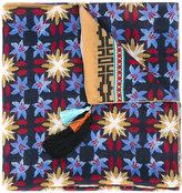 Forte Forte printed tassel scarf - women - Silk/Cotton - One Size