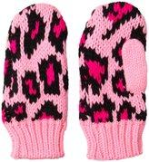 Betsey Johnson Spot A Trend Mitten - Pink-Small
