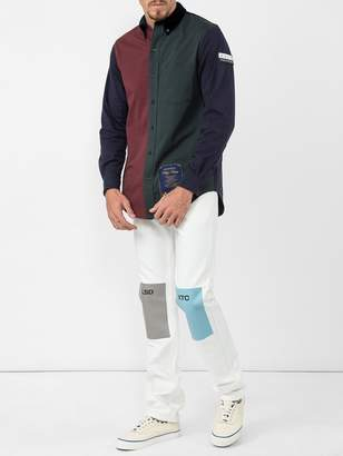 Raf Simons lsd xtc patch fitted jeans