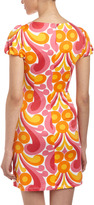 Julie Brown JB by Penny Kisses Puff-Sleeve Dress