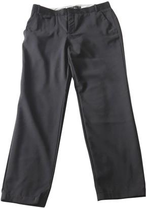 Zara Black Cloth Trousers for Women