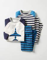 Boden Twin Pack Pyjamas