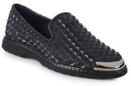 Giuseppe Zanotti Embossed Slip-On Loafers
