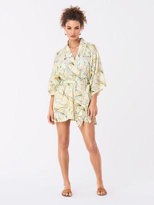 Diane von Furstenberg Gina Cotton Kimono