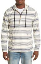 Lucky Brand Baja Stripe Woven Hoodie