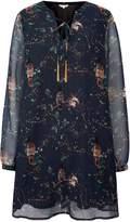 Yumi Owl Printed Tunic Dress