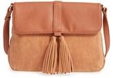 Sole Society Faux Leather Crossbody Bag - Purple