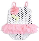 Kate Mack Infant Girl's Embellished One-Piece Swimsuit