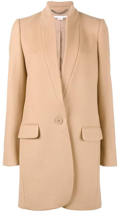 Stella McCartney Bryce single breasted coat