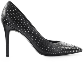 Michael Kors Claire Black Pump With Studs