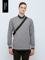 Frank and Oak State Concepts drirelease® French Terry Pullover in Grey Melange