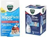 Vicks Personal Sinus Steam Inhaler (Inhaler Bundle)