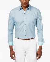 Tasso Elba 100% Cotton Regular-Fit Print Shirt, Only at Macy's