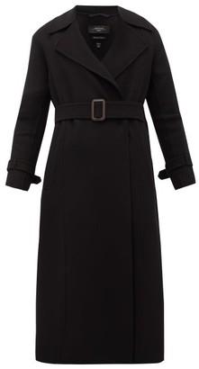 Max Mara Aris Virgin Wool-blend Coat - Black
