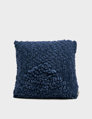 Minna Exclusive Moon Pillow in Indigo