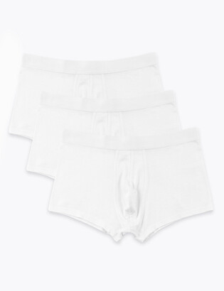 Marks and Spencer 3 Pack Premium Cotton Hipsters