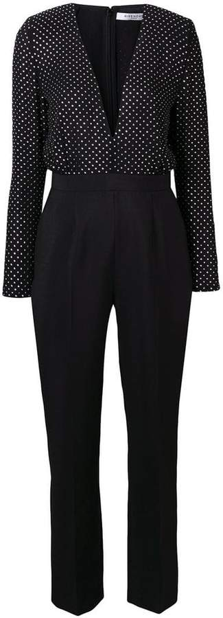 Givenchy polka-dot tailored jumpsuit