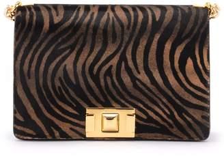 Furla Mimi S Bag In Animal-print Pony Skin