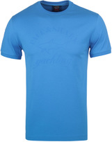 Paul & Shark Royal Blue Shark Fit Short Sleeve T-shirt