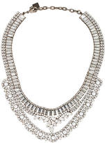 Dannijo Crystal Mini Bib Necklace