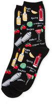 Hot Sox Cocktails Socks