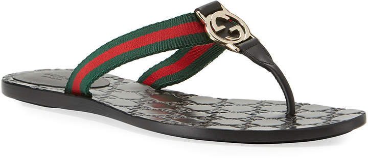 4fad51bdc Gucci Thong Women's Sandals - ShopStyle