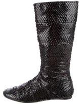 Jenni Kayne Embossed Mid-Calf Boots