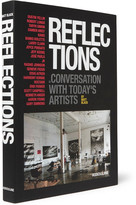 Assouline Reflections By Matt Black: In Conversation With Today's Artists Hardcover Book - Black