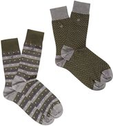White Stuff Gavin Smart Fairisle 2 Pack