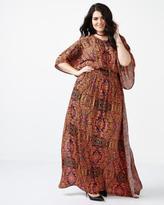 Penningtons MELISSA McCARTHY Printed Maxi Dress