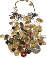 Klimt Shield Necklace by Subversive Jewelry