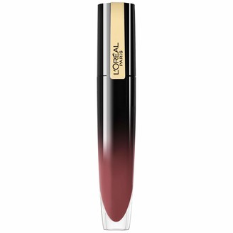 L'Oreal Makeup Brilliant Signature Shiny Lip Stain High Impact Glossy/Shiny Finish with a Lightweight Feel