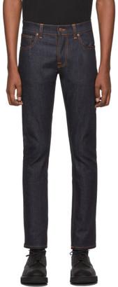Nudie Jeans Navy Tim Dry Jeans